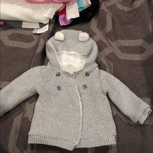 Carters Sherpa knitted sweater